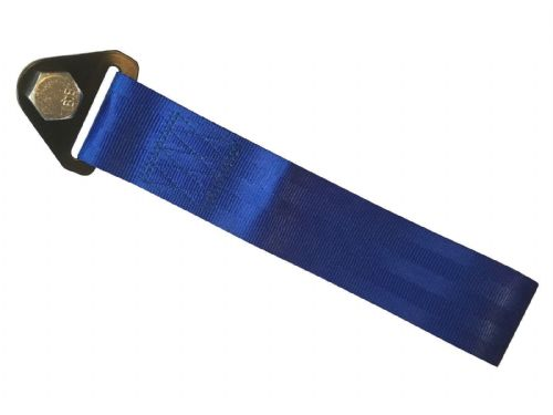 Racing Tow Straps Blue for Recovery JDM Drift Track Rally Car